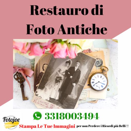 restauro di foto antiche