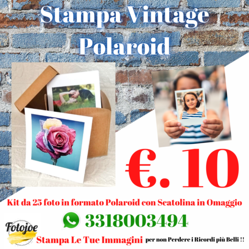 Stampa Polaroid kit