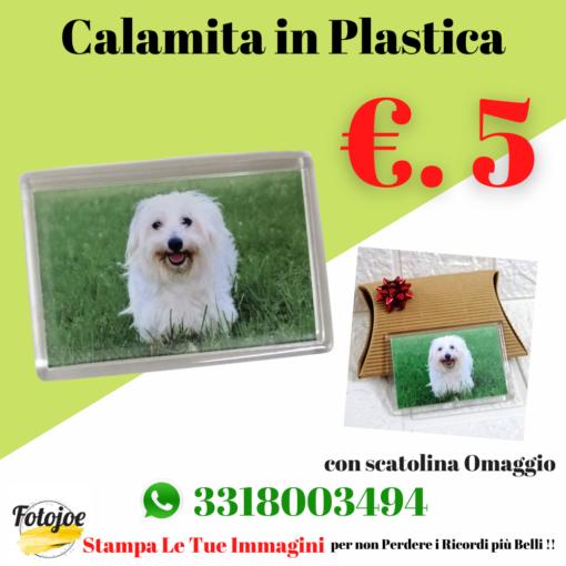 calamita magnete in plastica